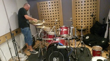 Drum setup.