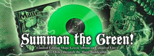 Green Vinyl Header